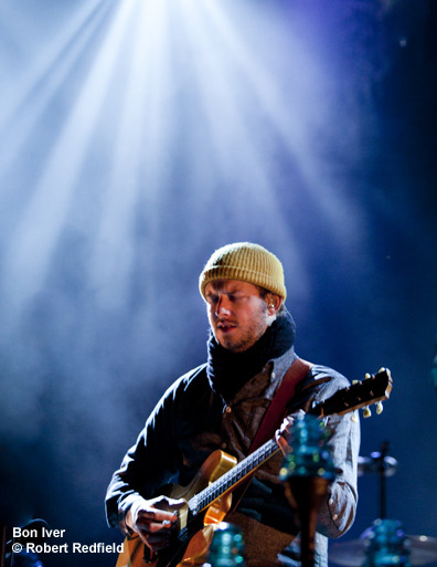 Bon Iver is currently on tour in support of their latest album, Bon Iver. Under the Radar photographer Robert Redfield took some photos at their show in Santa Barbara. (via Check Out Photos of Bon Iver at the Santa Barbara Bowl, 4-22-12 | Under The Radar)