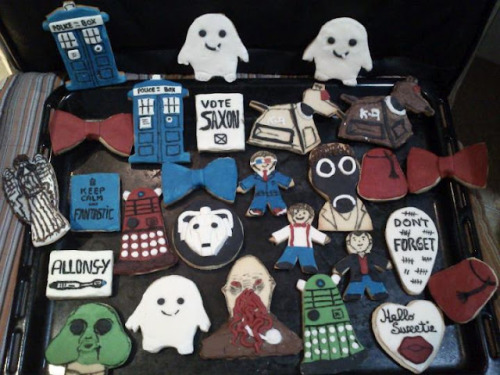 doctorwho:  Galletitas Whovians (Whovian Cookies) brisdan:     this is relavent.