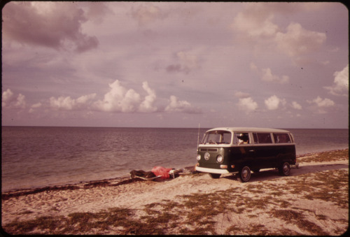 k-a-t-i-e-:  Beach at Little Duck Key. circa 1975 Flip Schulke