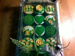12-piece Cupcakes Set (Green)