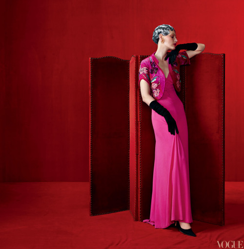 "vogue:  Vintage Schiaparelli Pieces Photographed by Steven Meisel for the May Issue of VogueLearn more about the Costume Institute's upcoming exhibition at the Metropolitan Museum of Art ""Schiaparelli and Prada: Impossible Conversations"" on Vogue.com."