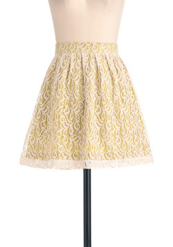 Key Lime To Your Heart Skirt from ModCloth