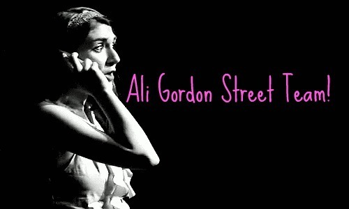 Join the Ali Gordon Street Team!Facebook and Twitter Ali is best known for her portrayal of Vanessa in StarKid's Me and My Dick. This summer, Ali will be in The Weston Playhouse's (Weston, VT) production of Fiddler on the Roof. Both she and A.J. Holmes will be playing major roles! It will be from August 2nd to August 25th, so go see Ali and AJ if you get the chance!