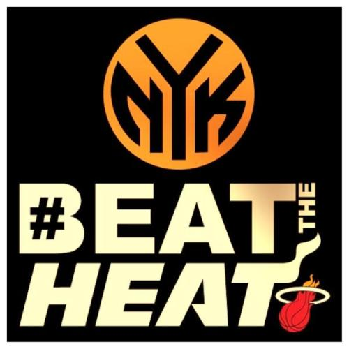 #BeattheHeat Leggo #Knicks! #NBAPlayoffs #Hashtagsgalore