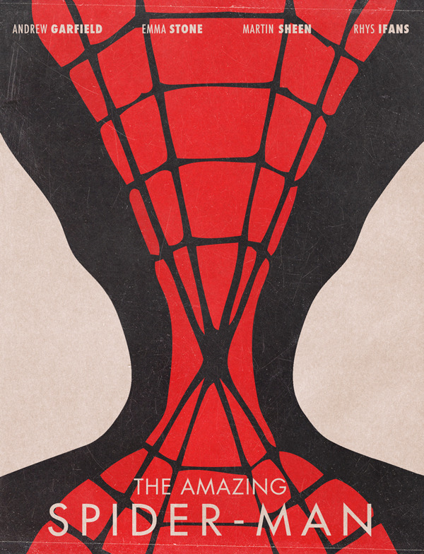 minimalmovieposters:  The Amazing Spider-Man by Jonas Ståhl