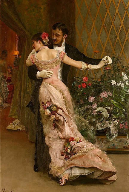 Rogelio de Egusquiza, The end of the ball