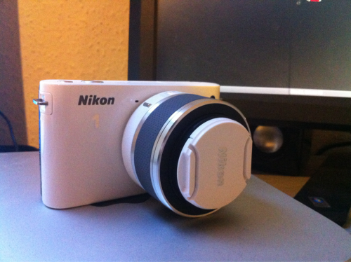 This is my new camera. I think I'm in lesbians with it.