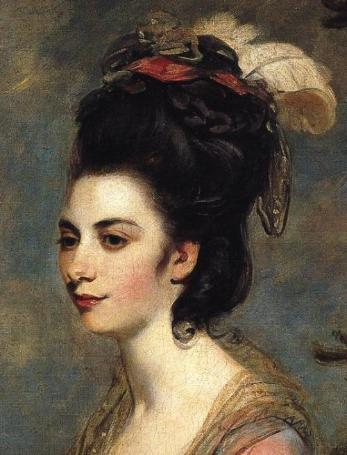toomuchart:  Sir Joshua Reynolds, Mrs Richard Crofts, 1775.
