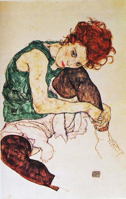 "save999things:  #51. Egon Schiele ""Art cannot be modern. Art is primordially eternal."""