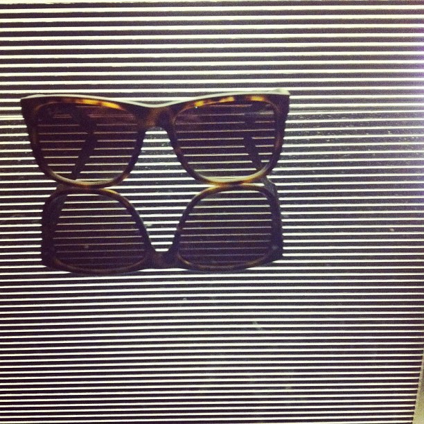 Ray Ban in reflection (Taken with instagram)