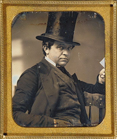 ca. 1854, [daguerreotype portrait of a gentleman] via the J. Paul Getty Museum, Cased Objects, Photographic Collections