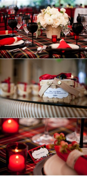 Holy Tartan Tablescape, Batman! (Source)