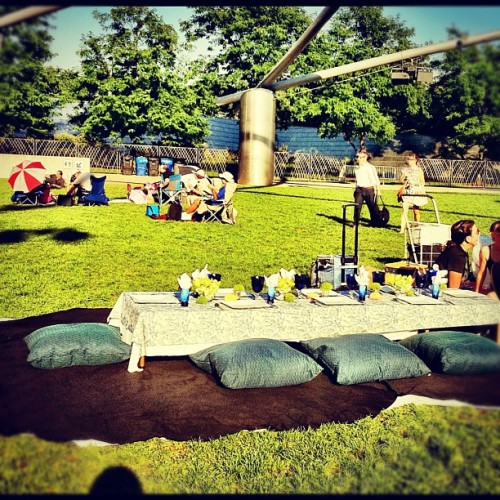 fancy picnic is fancy  (Taken with instagram)