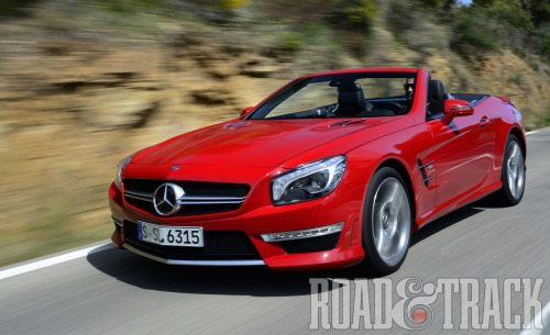 2013 Mercedes-Benz SL63 AMG: A Warp-Speed Grand Touring Rocket (Source: Road & Track)