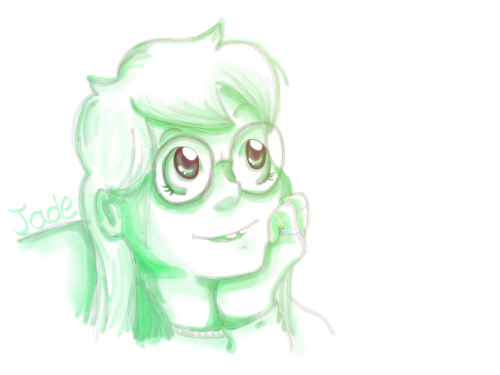 In which I *attempt* (and promptly fail) to do sketchy style with a mouse :I