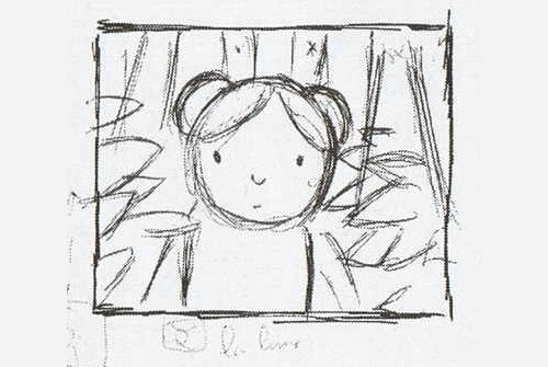 Björk par Michel Gondry (1993) - Storyboard du clip Human Behaviour