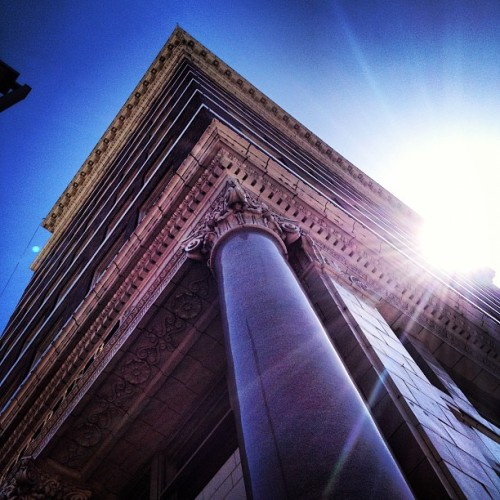 My favorite building in Fort Worth! (Taken with Instagram at Burk Burnett Building)