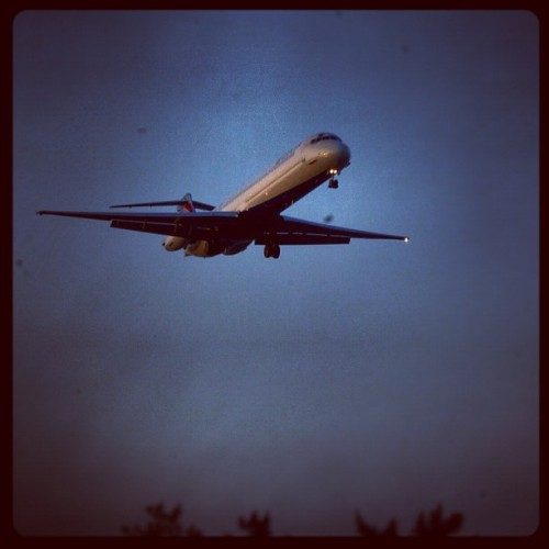 #night #flight #plane  (Taken with instagram)