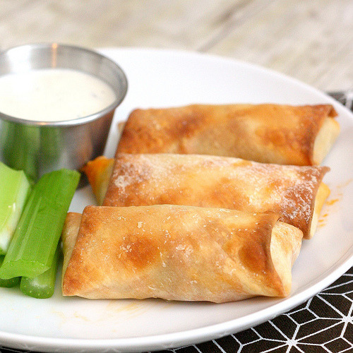 foodopia:  buffalo chicken rolls: recipe here