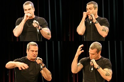 "thedailywhat:  Sage Advice of the Day: Henry Rollins, the relentlessly outspoken hardcore music icon — the Black Flag bearer of modern punk, if you will — recently participated in a ""Letters to a Young American"" project. What follows is an excerpt from Part 1 and Part 2.  ""You'll find in your life that sometimes your great ambitions will be momentarily stymied, thwarted, marginalized by those who were perhaps luckier; come from money; had more doors opened; where college was a given, not a student loan; it was something that dad paid for; where an ease and confidence in life was almost a birthright. Where for you, it was a very hard climb. … That happens all the time. Just because you come from nothing, you must not let that be something that holds you back.""  Poignant, and more relevant than ever. [death+taxes]  Yes."