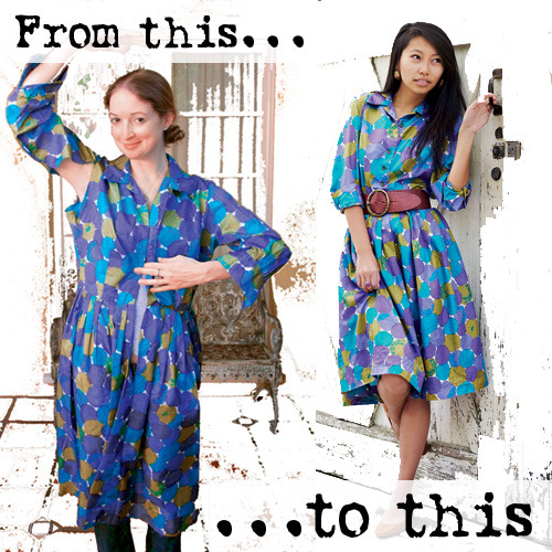 Give a thrift-store dress a face-lift. From toss-it to treasure, here's the secret to mending it better…