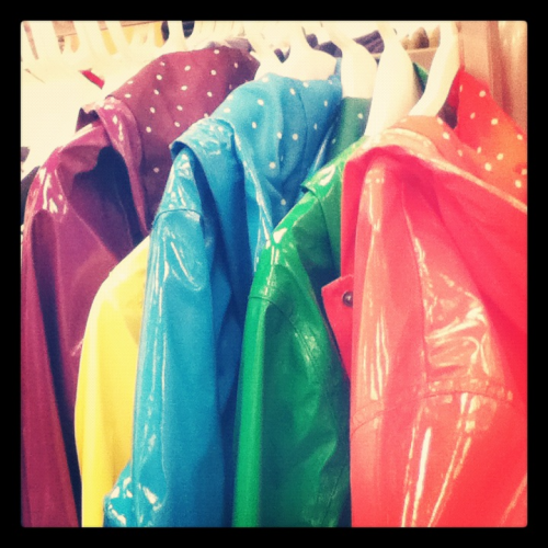 Colourful Raincoats