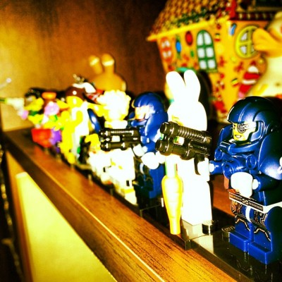 Ten Shun! #lego #minifigures #series7 #justnow  #igdaily  (Taken with instagram)