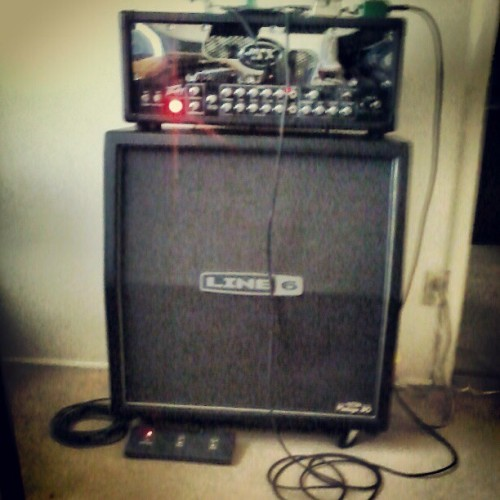 The rig. #peavey #jsx (Taken with instagram)