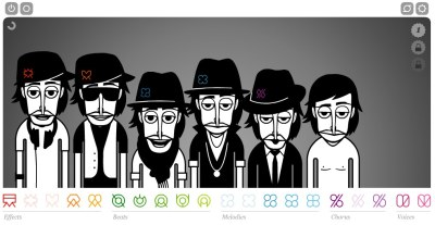fascinated:  Incredibox is a really fresh sampler/loop interface. Very well done. (via HN)