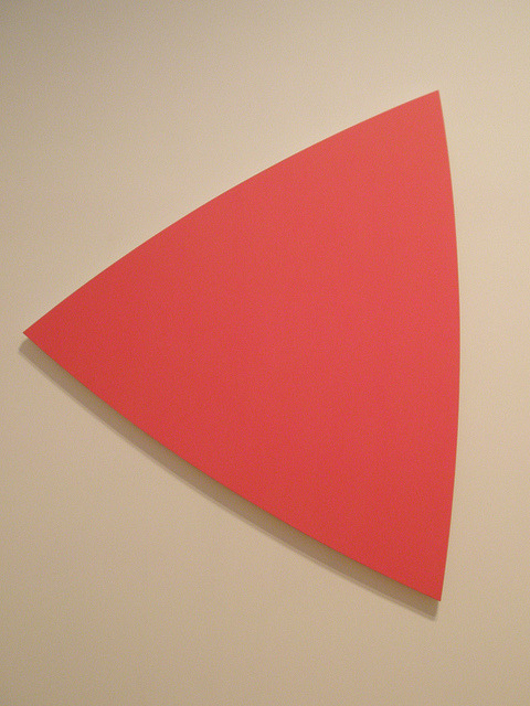 eparis:  Ellsworth Kelly 'Red Panel' by hanneorla on Flickr.