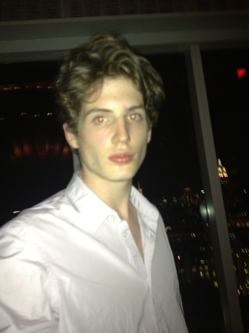 The Top of the Standard Hotel. I'm wearing @Burberry.