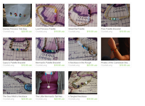 Week long 20% off sale at CrystalLung's etsy shop! Enter code CRYSTALLUNG at checkout for 20% off!