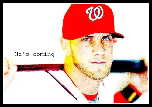 Bryce Harper will make his Major League debut this weekend: http://atmlb.com/Ii5xfF