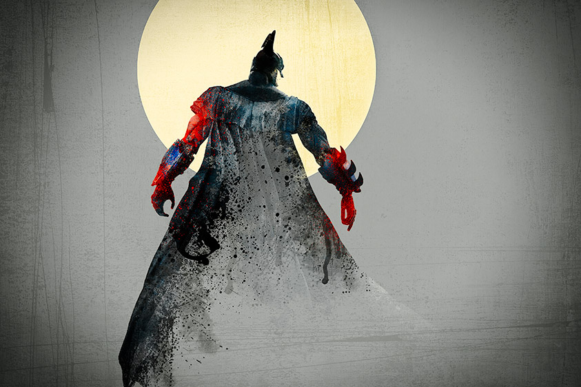 Dark Knight, Full Moon :