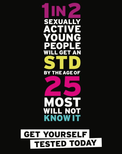 Today is the last day of National STD Awareness Month. Still plenty of time to Get Yourself Tested. It's usually as easy as peeing in a cup. NBD. Find a health center.
