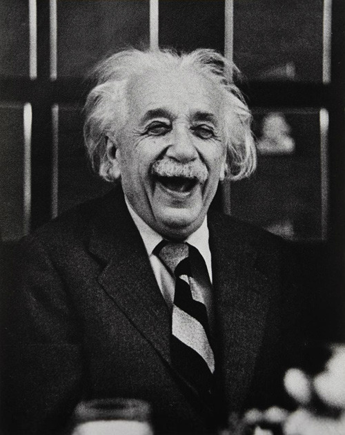 Einstein at Princeton, 1953 by Ruth Orkin.