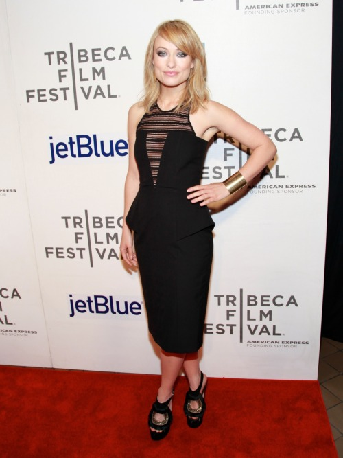 "Olivia Wilde on the ""Deadfall"" Premiere at the Tribeca Film Festval in New York City - April 22 2012"