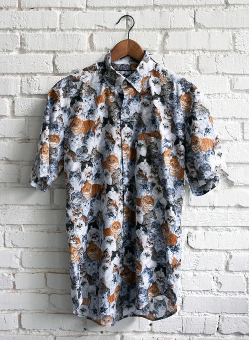 stalebagel:  ripndiplivefeed:  Releasing the Nermal Button Down on May 1st at 12:01am.  ripndipclothing.com  if you buy one you will get a drawing of minenumbered and signed 1 of 40 each different and you get an awesome shirt