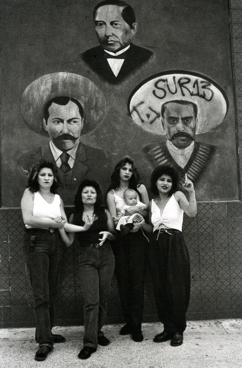 Cholas, White Fence, East L.A. - Graciela Iturbide, 1986