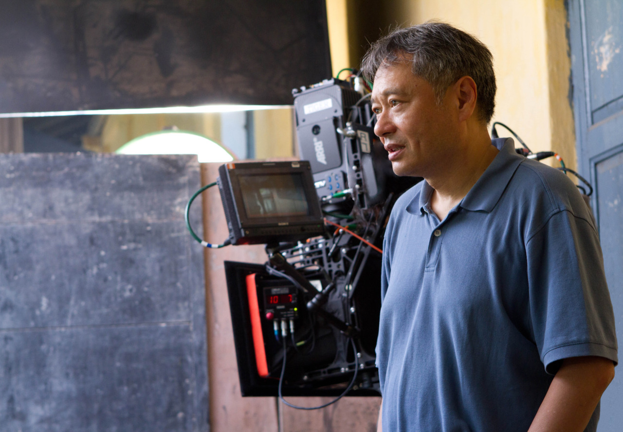 Ang Lee on the set of Life of Pi in Pondicherry, India Photo: Jake Giles Netter