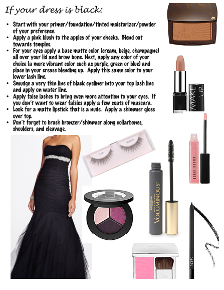 createthislookforless:  If your dress is black:
