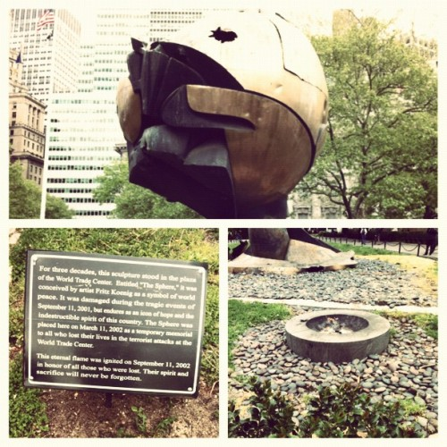 Battery Park #NYC  (Taken with instagram)