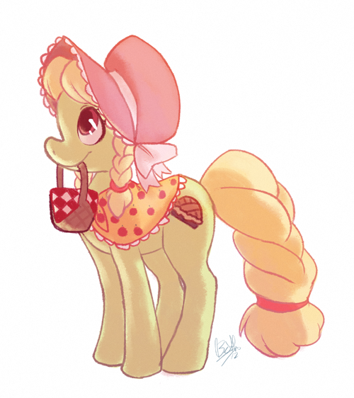 I've had a hectic couple of days, so I figured it was about time I did a pony drawing.