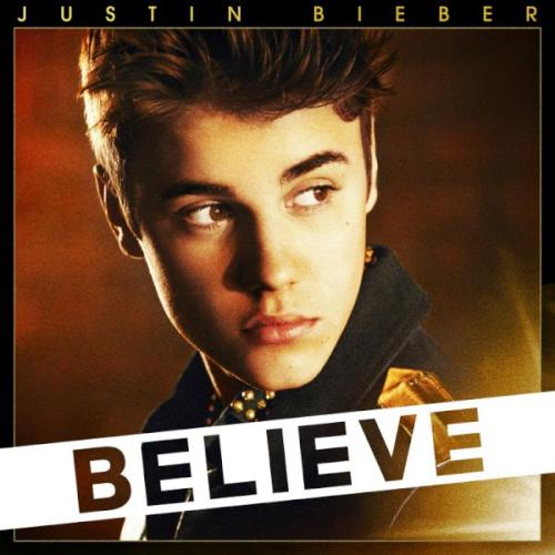 the Believe album cover (deluxe edition)