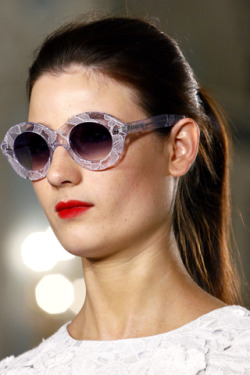 Cutler and Gross x Erdem sunnies