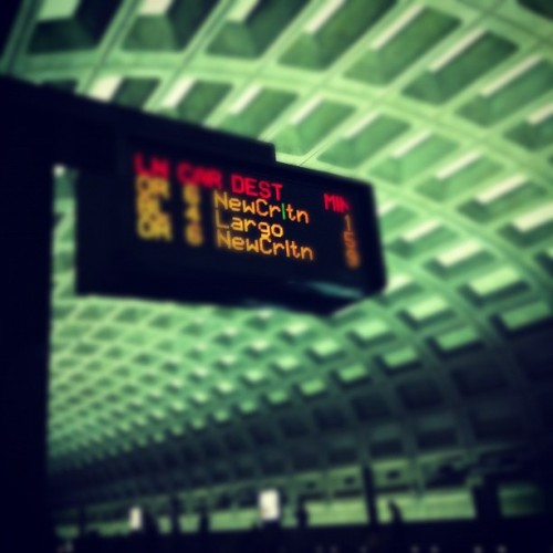 Why is this L always green? #wmata #metro (Taken with instagram)
