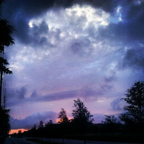 #sky #clouds #landscape  (Taken with instagram)