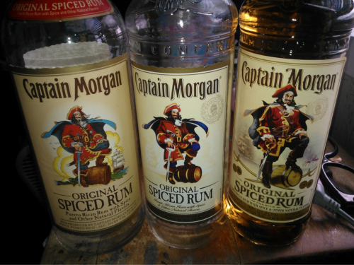 Captain Morgan changed their label again. Heres a look at how they have changed the past few years. I'm normal.