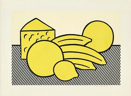 stilllifequickheart:  Roy Lichtenstein Yellow Still Life 1974