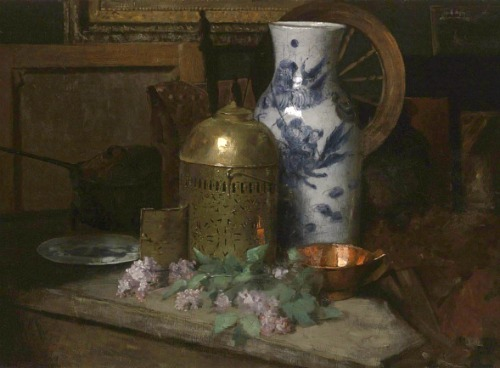 Julian Alden Weir Still Life in the Studio 1878-80